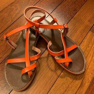 Mossimo red/orange sandals